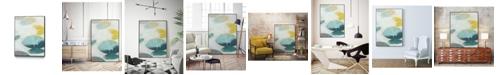 "Giant Art 24"" x 18"" Stacking Stones I Art Block Framed Canvas"