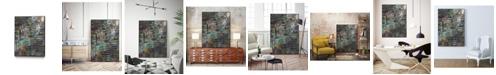 "Giant Art 14"" x 11"" Stack II Art Block Framed Canvas"