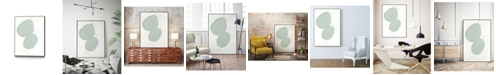 "Giant Art 24"" x 18"" Implied Motif I Art Block Framed Canvas"