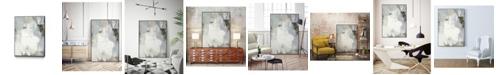 """Giant Art 40"""" x 30"""" Joule III Art Block Framed Canvas"""