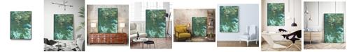 "Giant Art 20"" x 16"" Rambling Sage I Art Block Framed Canvas"