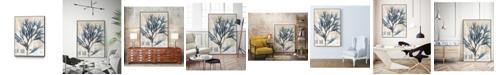 "Giant Art 28"" x 22"" Seaweed Arrangement I Art Block Framed Canvas"