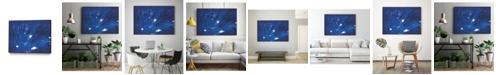 """Giant Art 28"""" x 22"""" Burst II Art Block Framed Canvas"""