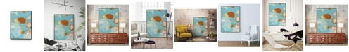 "Giant Art 32"" x 24"" Phoenix II Art Block Framed Canvas"