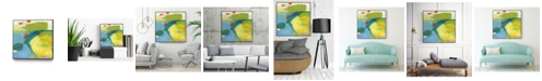 "Giant Art 30"" x 30"" Keswick IV Art Block Framed Canvas"