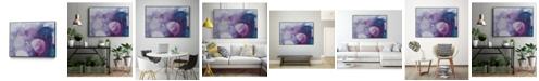 "Giant Art 28"" x 22"" Ice Crystals III Art Block Framed Canvas"