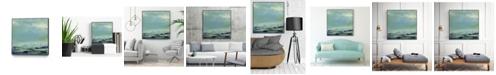 "Giant Art 20"" x 20"" Origin Abstract V Art Block Framed Canvas"