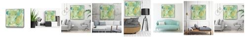"Giant Art 30"" x 30"" World Wind II Art Block Framed Canvas"