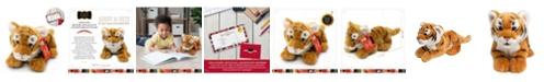 FAO Schwarz Toy Plush Cub Tiger 12inch