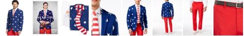 OppoSuits Stars & Stripes Slim-Fit Suit & Tie