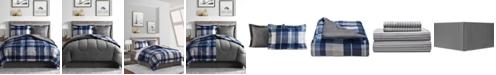 Fairfield Square Collection Alton 6-Pc. Reversible Twin XL Comforter Set