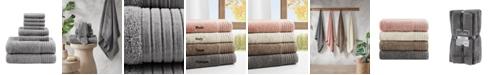Madison Park Signature Mirage Solid 100% Cotton 8-Pc. Towel Set