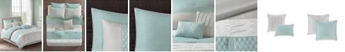 JLA Home 510 Design Tinsley California King 8 Piece Comforter Set