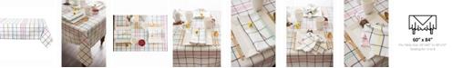 """Design Imports Color Pop Plaid Table cloth 60"""" X 84"""""""