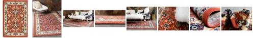 "Bridgeport Home Arnav Arn1 Terracotta 2' 2"" x 3' Area Rug"