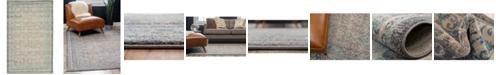 """Bridgeport Home Bellmere Bel4 Gray 3' 3"""" x 5' 3"""" Area Rug"""