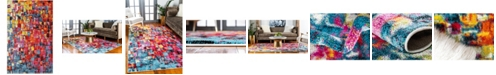 Bridgeport Home Pari Par1 Multi 5' x 8' Area Rug