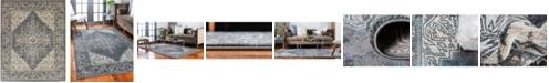Bridgeport Home Aroa Aro8 Gray 8' x 10' Area Rug