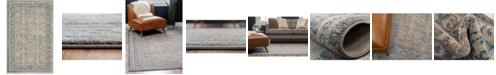 Bridgeport Home Bellmere Bel4 Gray 2' x 3' Area Rug