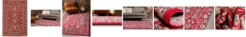 Bridgeport Home Arnav Arn1 Red 6' x 9' Area Rug