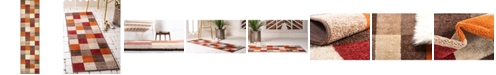 "Bridgeport Home Jasia Jas01 Multi 2' 6"" x 10' Runner Area Rug"