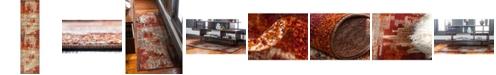 "Bridgeport Home Jasia Jas06 Multi 2' 6"" x 10' Runner Area Rug"