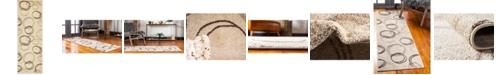 Bridgeport Home Jasia Jas05 Beige 2' x 6' Runner Area Rug