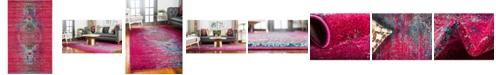 Bridgeport Home Brio Bri6 Pink 5' x 8' Area Rug