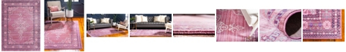 Bridgeport Home Malin Mal2 Pink 9' x 12' Area Rug