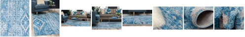 Bridgeport Home Nira Nir2 Blue 8' x 10' Area Rug