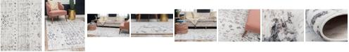 Bridgeport Home Nira Nir2 Ivory/Gray 8' x 10' Area Rug