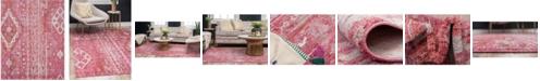 Bridgeport Home Nira Nir2 Pink 8' x 10' Area Rug