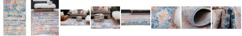 Bridgeport Home Nira Nir4 Blue 5' x 8' Area Rug