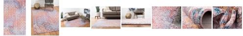 """Bridgeport Home Prizem Shag Prz2 Lilac 3' 3"""" x 5' 3"""" Area Rug"""