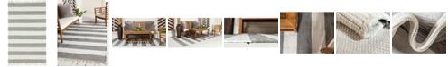 Bridgeport Home Jari Jar5 Gray 5' x 8' Area Rug