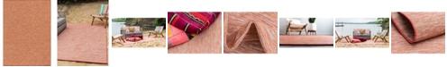 "Bridgeport Home Pashio Pas8 Terracotta 8' 4"" x 11' 4"" Area Rug"