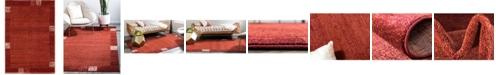 "Bridgeport Home Lyon Lyo1 Rust Red 2' 2"" x 3' Area Rug"