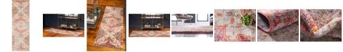 "Bridgeport Home Agostina Ago2 Multi 2' 2"" x 6'  Runner Area Rug"