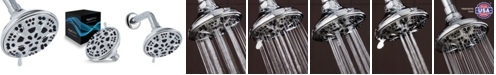 Aquadance High Pressure 6-Setting Shower Head