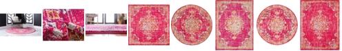 Bridgeport Home Lorem Lor1 Magenta Area Rug Collection