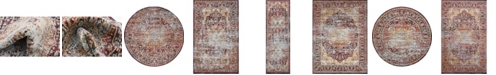 Bridgeport Home Ananta Ana4 Rust Red Area Rug Collection