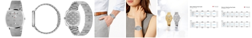 Gucci Grip Stainless Steel Bracelet Watch 38mm