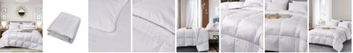Elle Decor Ultra-Soft Nano-Touch Extra Warmth White Down Fiber Comforter, Full/Queen