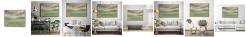 "Giant Art 32"" x 24"" Sunset Study VIII Art Block Framed Canvas"
