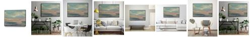"Giant Art 40"" x 30"" Sunset Study VI Art Block Framed Canvas"