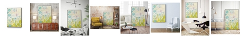 "Giant Art 14"" x 11"" Lattice Progression I Art Block Framed Canvas"