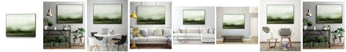 "Giant Art 20"" x 16"" Verdant III Art Block Framed Canvas"