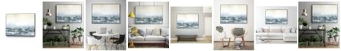 "Giant Art 24"" x 18"" Sea View V Art Block Framed Canvas"