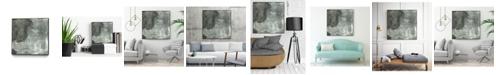 "Giant Art 20"" x 20"" Abstract II Art Block Framed Canvas"