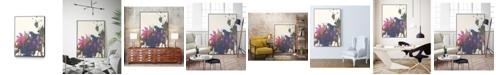 """Giant Art 20"""" x 16"""" Exuberant Splotch Art Block Framed Canvas"""